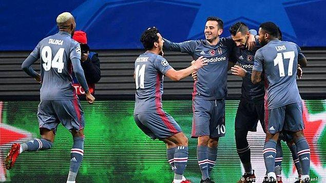 1. 6 Aralık 2017/  RB Leipzig 1:2 Beşiktaş