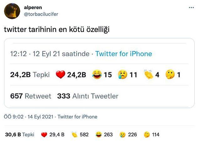 Tweetlere 5 farklı duygu emojisi ile tepki gösterilebilen bu özellik çoğu kullanıcının hoşuna gitmedi ve tepkilerini farklı şekillerde dile getirdiler.