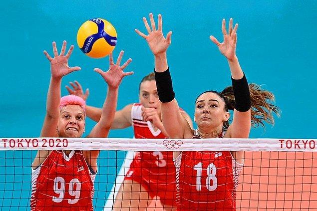 8. 2020 Tokyo Olimpiyatları'nda 29 blok yaparak zirveye yerleşmiştir.