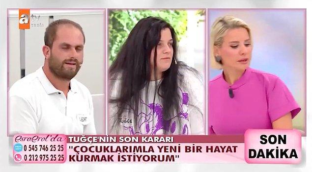 Tuğçe Türkoğlu'nun verdiği karar ise hem resmi eşi Vedat Türkoğlu'nu hem de imam nikahlı eşi Bayram Er'i bırakmak oldu.