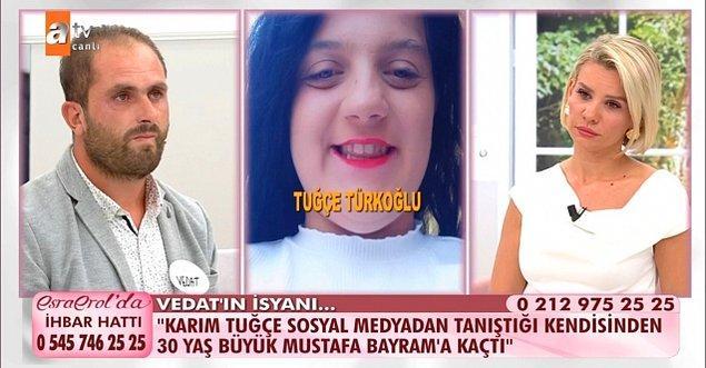 Vedat Türkoğlu, tüm bu itirafların ardından daha öncesinde de evden kaçan eşinden boşanmak ve çocuklarının velayetini almak istediğini söyledi.
