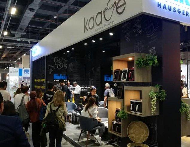 Coffex İstanbul Fuarı, Türkiye'de Kahve endüstrisi ve bu endüstriyi destekleyen paydaş ürünler konusunda yapılan tek ve en önemli fuar olma özelliği taşıyor.