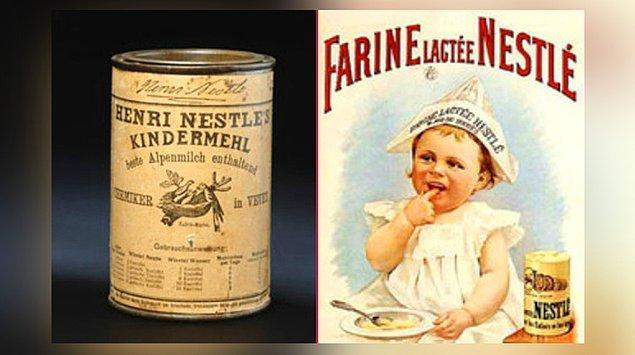 9. Nestle - Bebek Maması (1857)