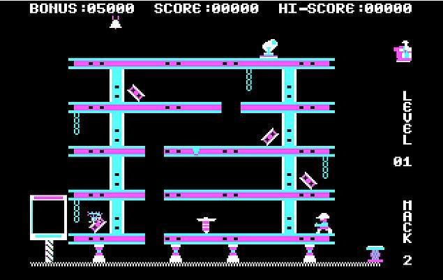 12. EA Games - Hard Hat Mack (1983)