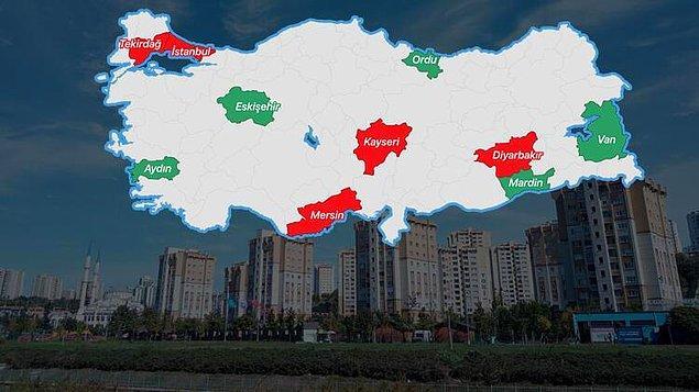 Hürriyet'ten İsmail Sarı ve Tuğba Öztürk'ün haberine göre sadece İstanbul ve Ankara gibi metropoller değil tüm yurtta kiralar coşmuş durumda.