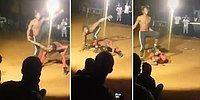 Aşırı Esnek Adamın İzlerken Hop Oturup Hop Kalkacağınız Bi' Acayip Gösterisi
