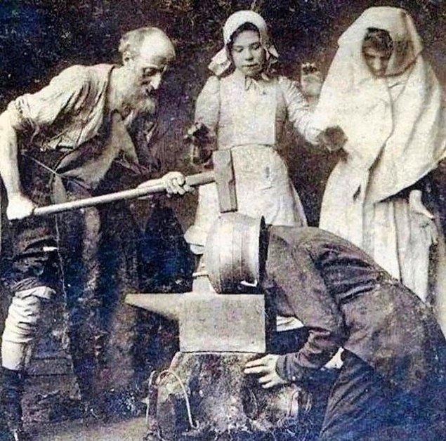 5. 1890'lı yıllarda baş ağrısı tedavisi için kullanılan 'titreşim terapisi' yöntemi: