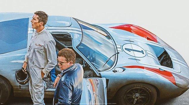 4. Ford v Ferrari (Asfaltın Kralları) - IMDb: 8.1