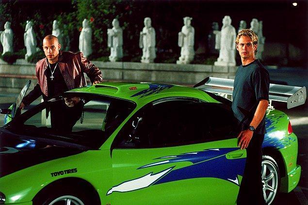 1. The Fast and the Furious (Hızlı ve Öfkeli)