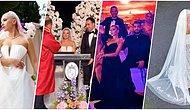 Ünlü Şarkıcı Ece Seçkin ile Pilot Nişanlısı Çağrı Terlemez, Ünlülerin Akın Ettiği Bir Düğünle Dünyaevine Girdi