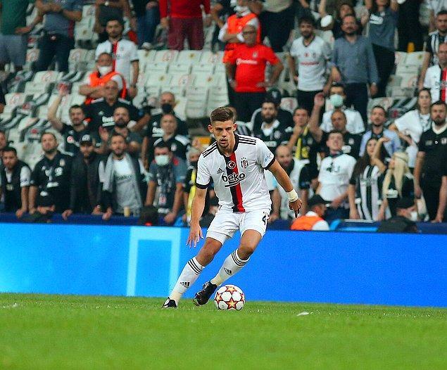 Temsilcimiz Beşiktaş'ın tek golü ise Montero'dan geldi.
