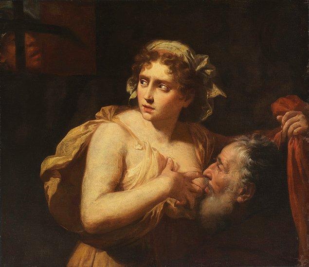 Yargıç ise bu özveri karşısında bir bakıma çaresiz kalır ve hem Pero'yu hem de Cimon'u serbest bırakır. Tarihçi Maximus'a göre insanlar bu resmi ilk gördüklerinde şaşıracaklardır.