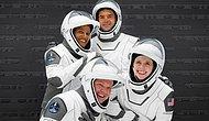 Dört Amatör Astronotun Üç Gün Sürecek Uzay Yolculuğu Başladı