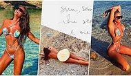Yunanistan'da Gittiği Çıplaklar Plajı'nda Çırılçıplak Poz Veren Eda Taşpınar, Olay Yarattı! 🔥