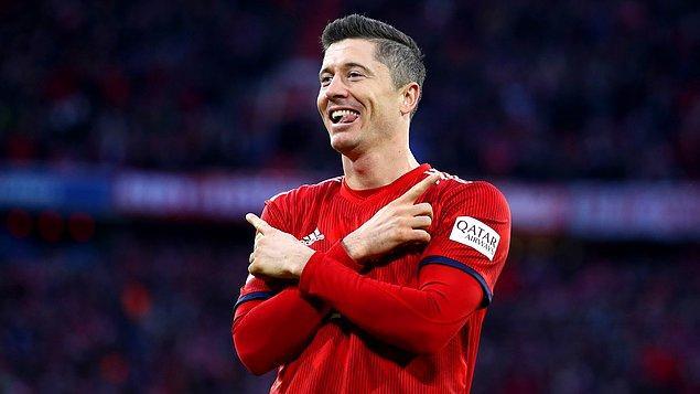 10. Robert Lewandowski (Bayern Münih) - Haftalık 483 bin Dolar