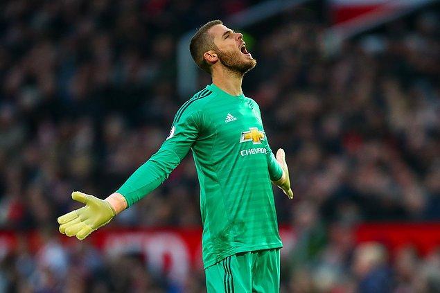 9. David de Gea (Manchester United) - Haftalık 517 bin Dolar