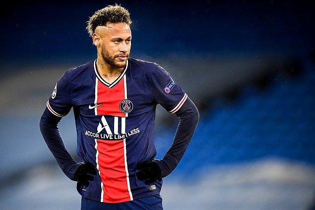 2. Neymar (Paris Saint-Germain) - Haftalık 836 bin Dolar