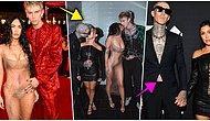 Erkekler Tuvaletinde Sevgilileriyle Öpüşen Megan Fox ve Kourtney Kardashian'ın Pozları Ortalığı Yakıp Geçti 🔥