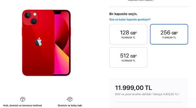 iPhone 13 mini ile başlayalım!