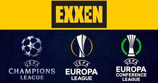 Beşiktaş, Fenerbahçe ve Galatasaray'ın Avrupa Maçları Exxen'de Nasıl İzlenir Tane Tane Anlatıyoruz!