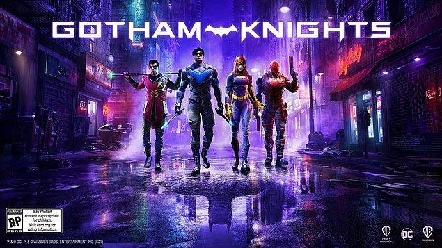 7. DC evrenine balıklama dalıyoruz: Gotham Knights