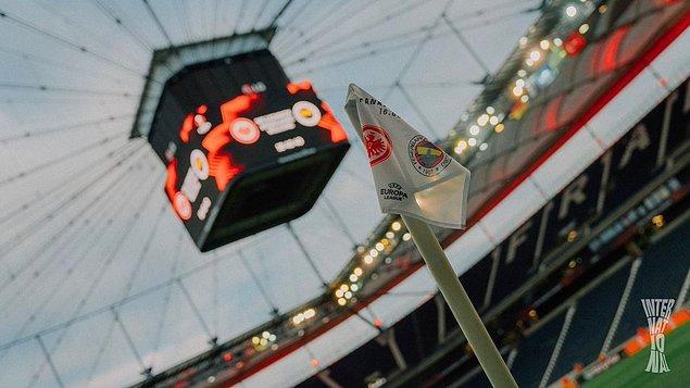 Fenerbahçe , UEFA Avrupa Ligi D Grubu ilk maçında Eintracht Frankfurt'a konuk oldu.