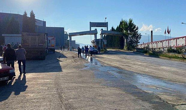Demir Çelik Fabrikasında Patlama: 5 Yaralı
