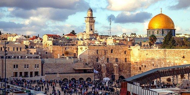 11. Kudüs - Filistin/İsrail (M.Ö. 2800)