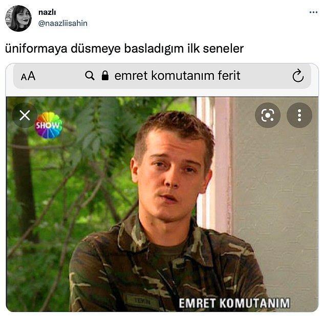 12. 'Emret Komutanım' Mehmet karakterini de unutamıyoruz...
