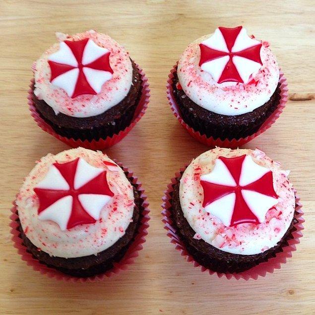 8. Umarız bu cupcake'ler Umbrella Corp. imalatı değillerdir...