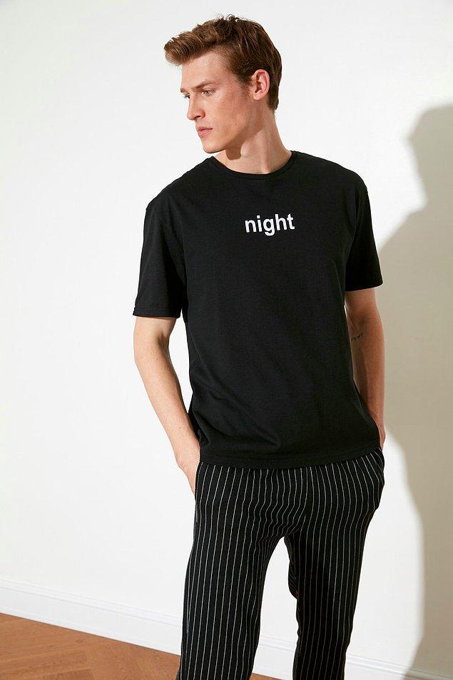 17. Cool erkekler için bir pijama takımı...