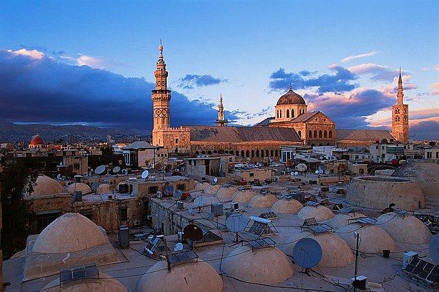 4. Şam - Suriye (M.Ö. 4300)