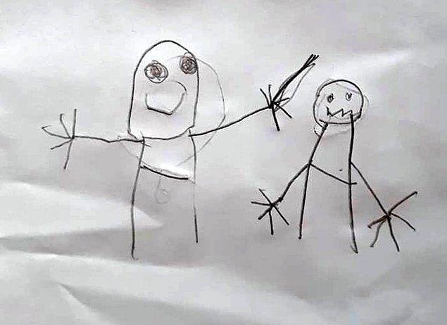İstismarı resimle anlattılar