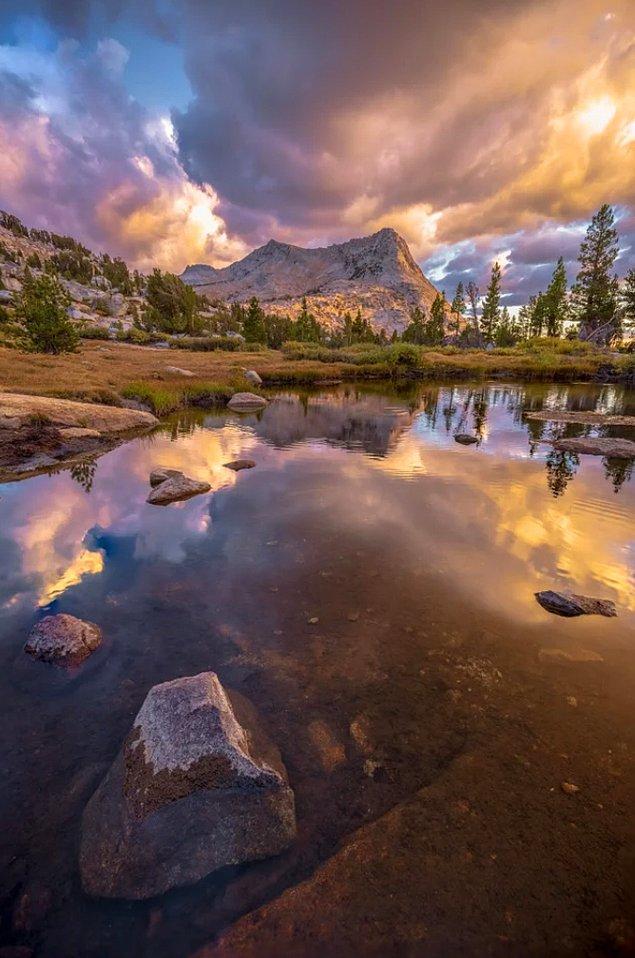 9. Vogelsang Peak'teki bu müthiş manzara tüm hayatımızdaki tüm stresi alır gibi...