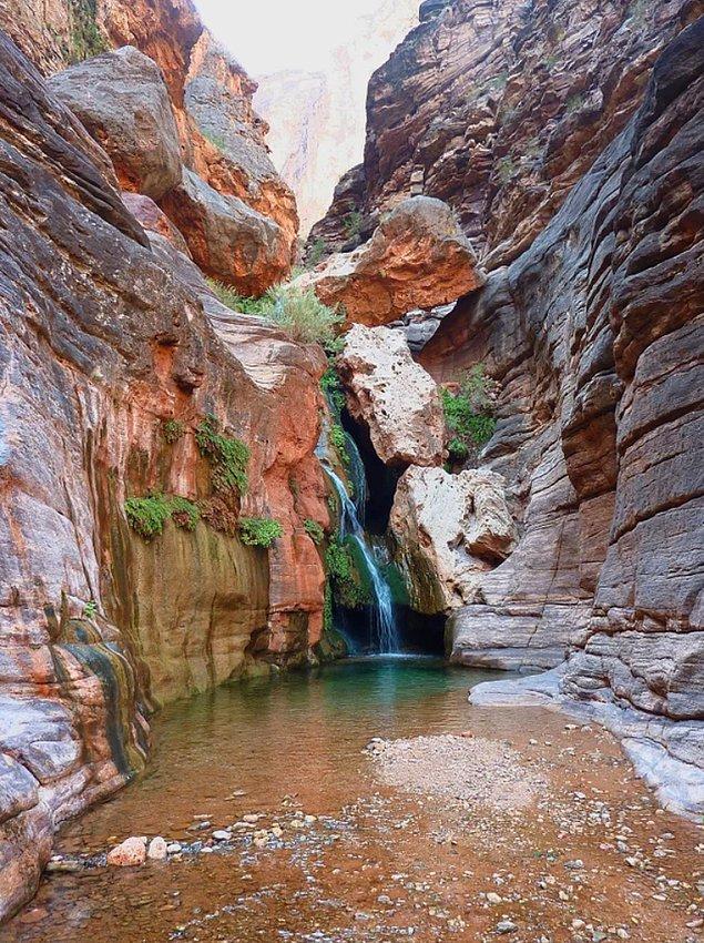 21. Büyük Kanyon Ulusal Parkı - Elves Chasm: