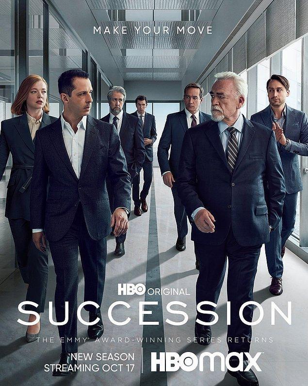 5. Succession'ın 3. sezonu 17 Ekim'de başlayacak.