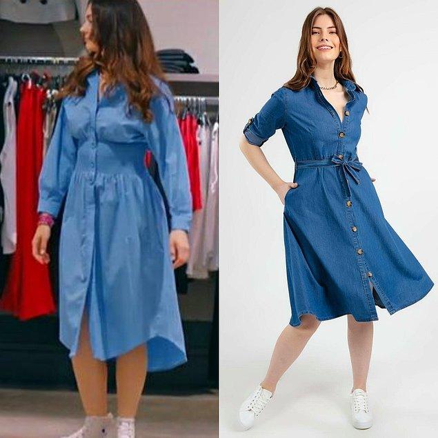 9. Yanlış hatırlamıyorsam Esra ilk bölümde bu mavi elbiseyi giymişti.