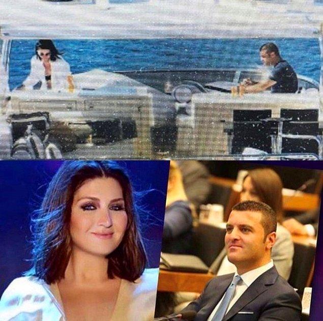 Emir Sarıgül, geçtiğimiz Mayıs ayında ünlü sanatçı Sibel Can ile teknede görüntülenmişti.