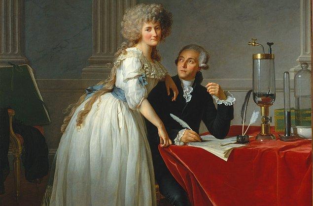 Antoine Lavoisier gözlerini kırpmış mıydı?