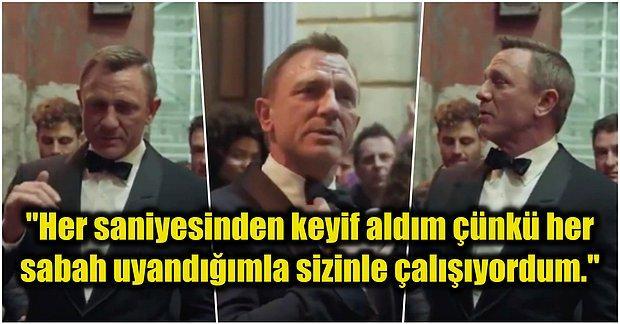 'No Time To Die' Çekimlerinin Bitmesiyle James Bond Karakterine Veda Eden Daniel Craig Gözyaşlarını Tutamadı!