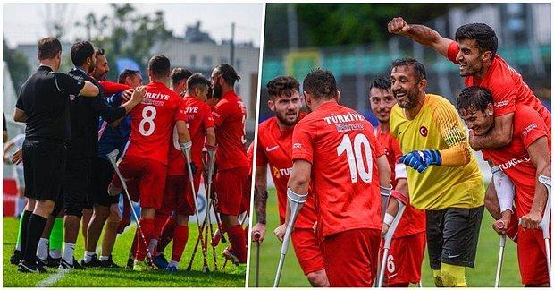 Finaldeyiz! Ampute Futbol Milli Takımımız Avrupa Şampiyonası'nda Adını Sahaya Altın Harflerle Yazdırdı!