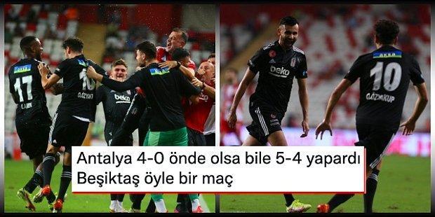Kara Kartal'dan Muhteşem Geri Dönüş! Beşiktaş 2-0 Yenik Duruma Düştüğü Maçta Antalyaspor'u Devirmeyi Başardı