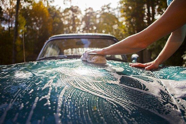 Hızınızı alamadıysanız arabanızın içini de temizleyebilirsiniz.