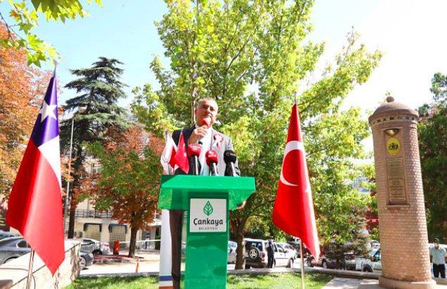 Çankaya Belediye Başkanı Alperen Taşdelen de katıldı.
