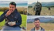20 Yıllık Yüzüklerin Efendisi Filminin Setine Giden Türk Gezgin Şafak Aslan'ın Fotoğraflarını Görmelisiniz!
