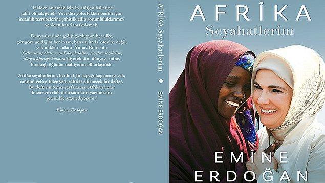 Emine Erdoğan, 'Afrika Seyahatlerim' kitabını ilk olarak, 20 Eylül'de Türk Evi'nde düzenlenecek programla ülke liderlerinin eşlerine, BM ve diğer uluslararası temsilciler ile sivil toplum kuruluşu temsilcilerine tanıtacak.
