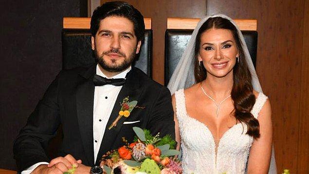 14. Begüm Birgören de pandemide evlenen ünlülerden...