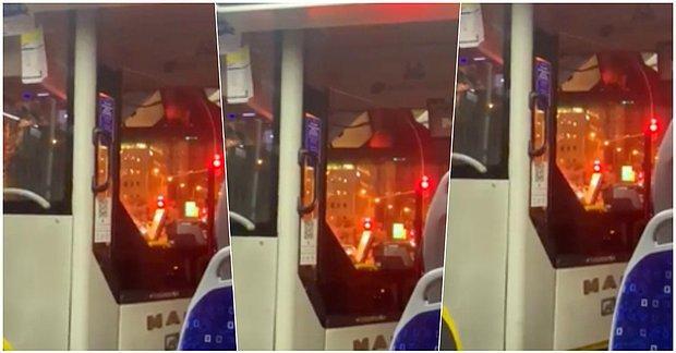 Tüm Alışkanlıkların Dışına Çıkarak Metallica'nın 'The God That Failed' Şarkısını Çalan Belediye Otobüsü Şoförü