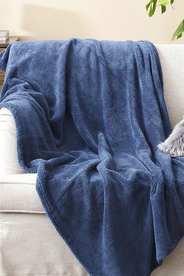 17. Televizyonu aldıysanız bu battaniyeyi almayı da unutmayın.
