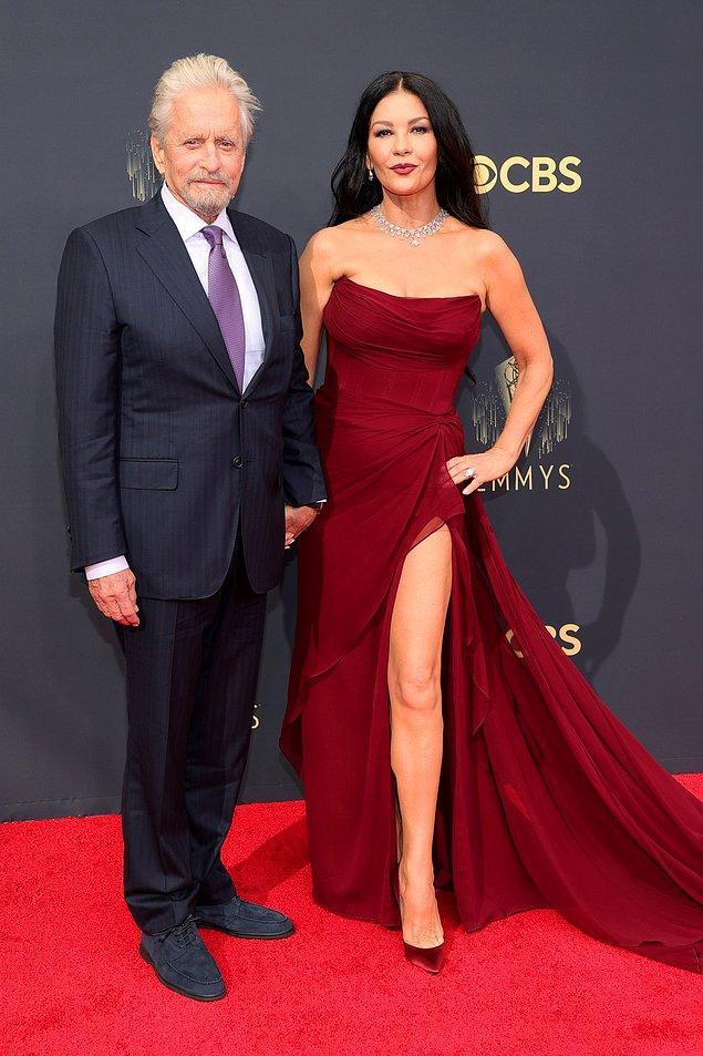 12. Michael Douglas & Catherine Zeta-Jones